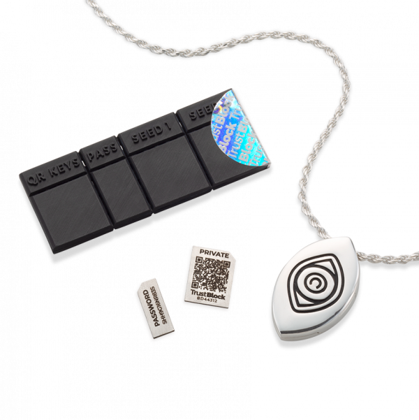 Cold Wallet Kit With Necklace