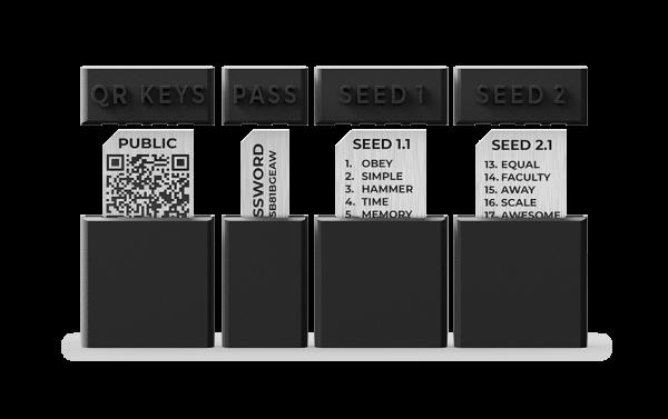 TrustBlock Bitcoin Cold wallet